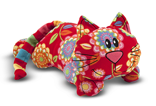 Melissa and Doug Beeposh Toby Cat Stuffed Animal