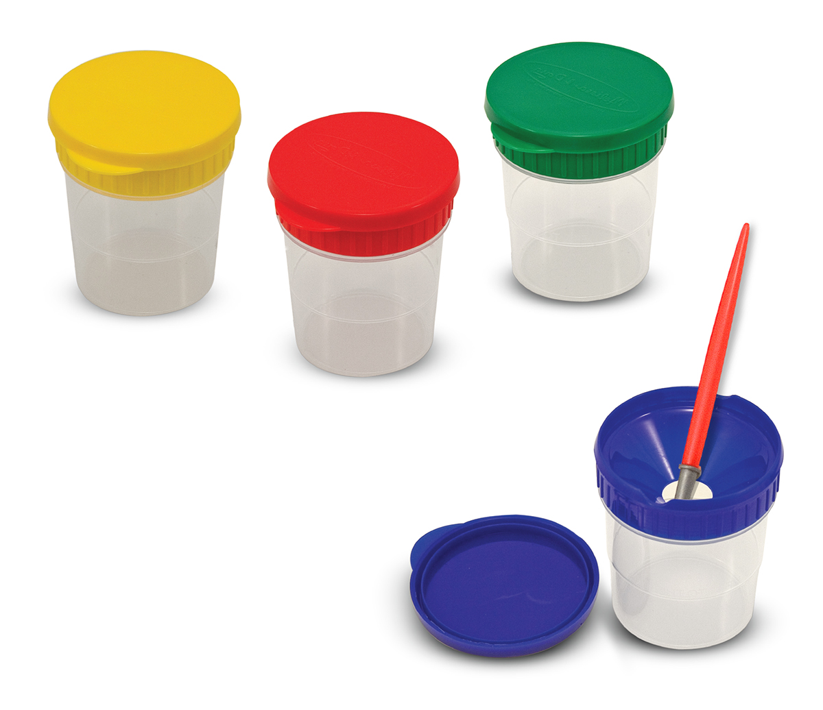 Melissa & Doug - Spill-proof Paint Cups 5353a262a9de05145cbf2903339a4053