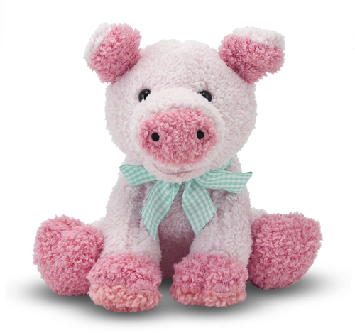 Melissa and Doug Meadow Medley Piggy Stuffed Animal
