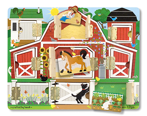 Melissa and Doug Hide & Seek Farm