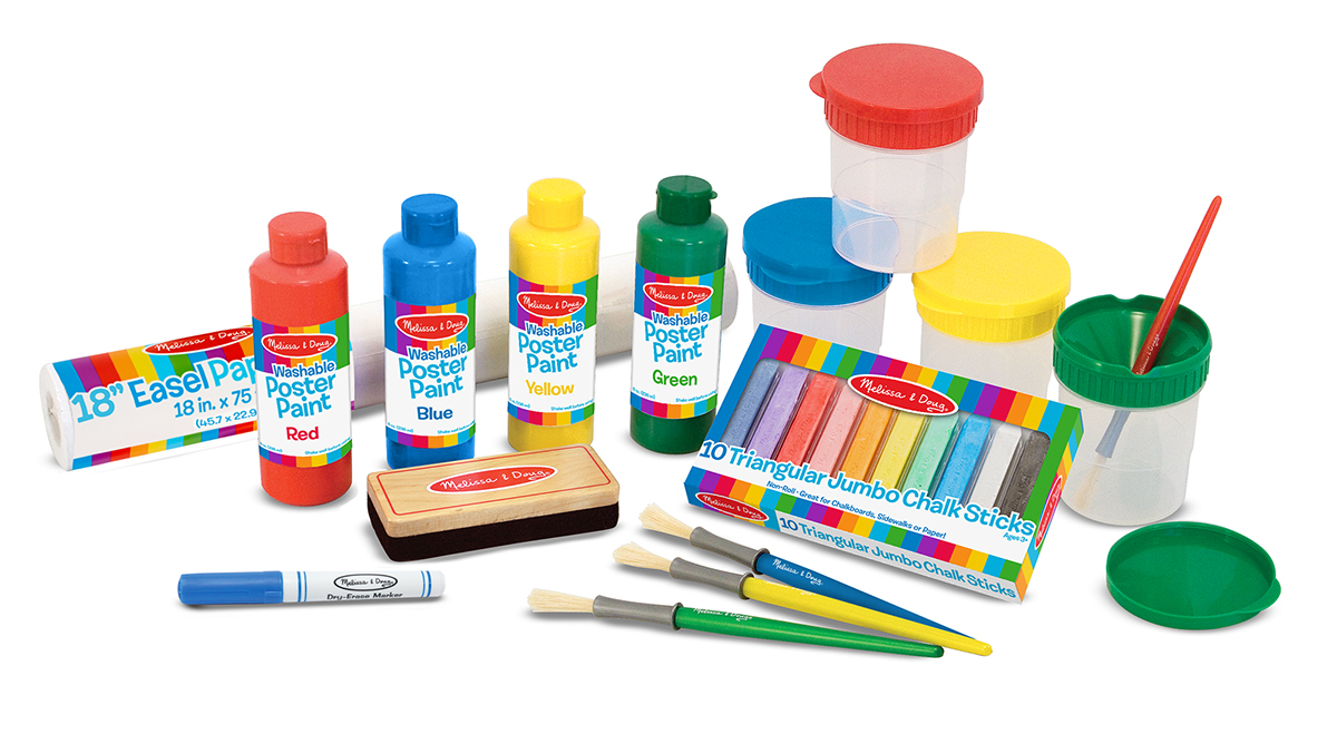 Melissa & Doug Easel Companion Accessory Set 4145