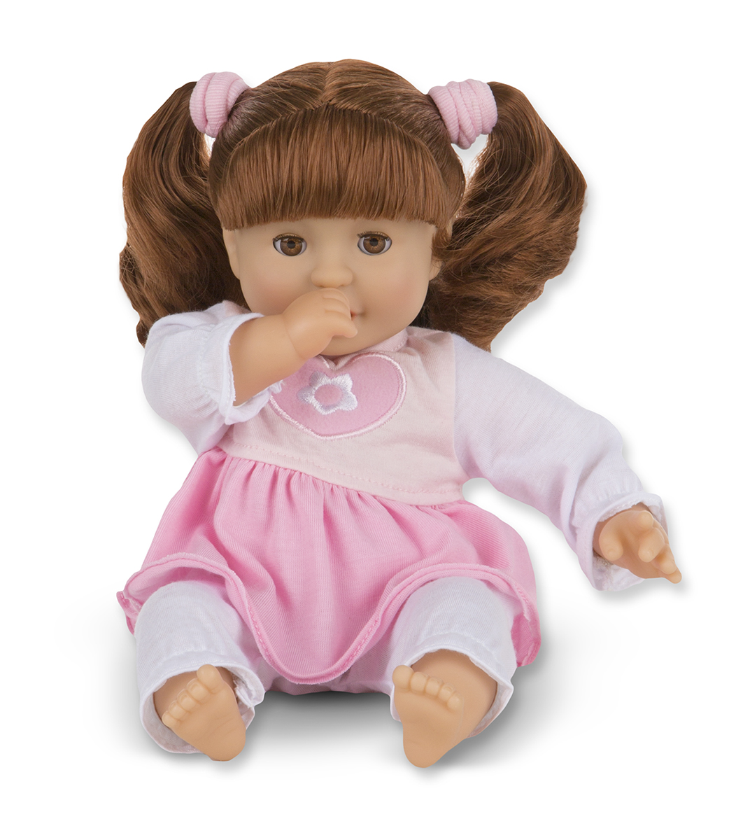 "Melissa and Doug Brianna 12"" Doll - Mine to Love"