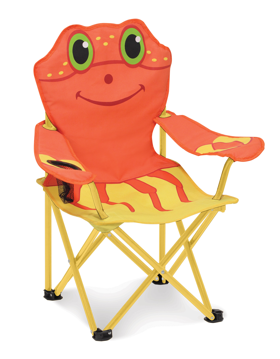 An Image of Melissa and Doug Clicker Crab Child's Outdoor Chair