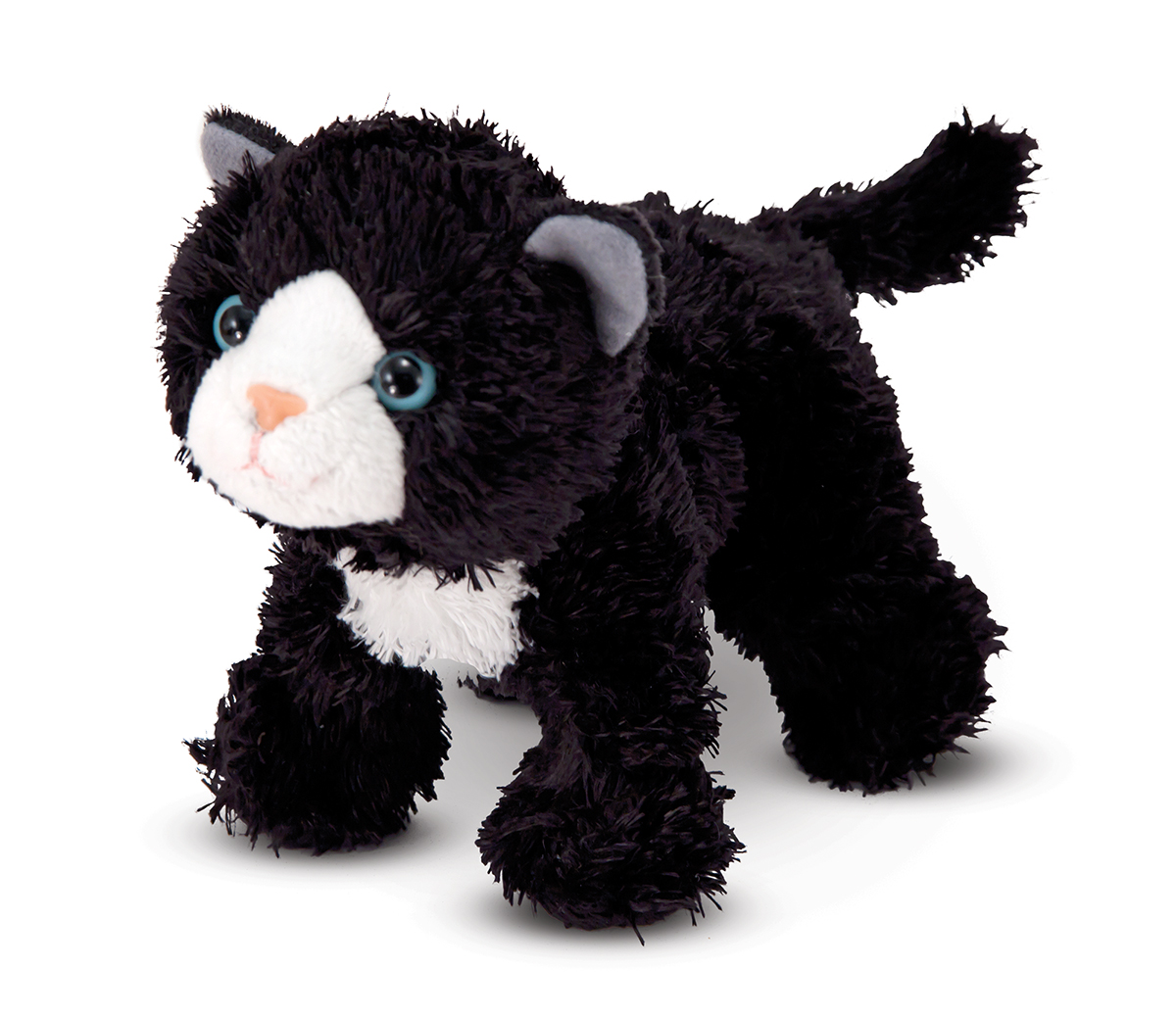 Melissa and Doug Lexie Black Kitten Stuffed Animal