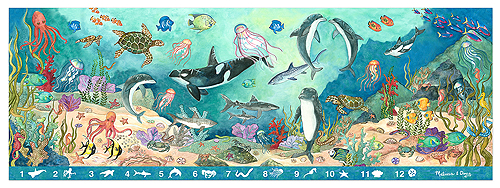 Melissa & Doug Search & Find Under the Sea Floor Puzzle - 48 pieces 4493