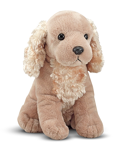 Melissa and Doug Spirit Cocker Spaniel Puppy Dog Stuffed Animal