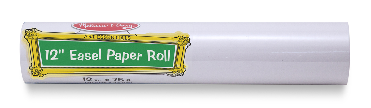 Melissa and Doug 12 inch Tabletop Paper Roll