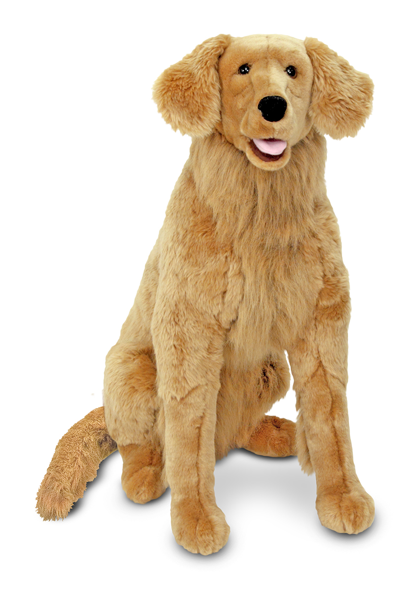 Melissa & Doug Golden Retriever Giant Dog Stuffed Animal