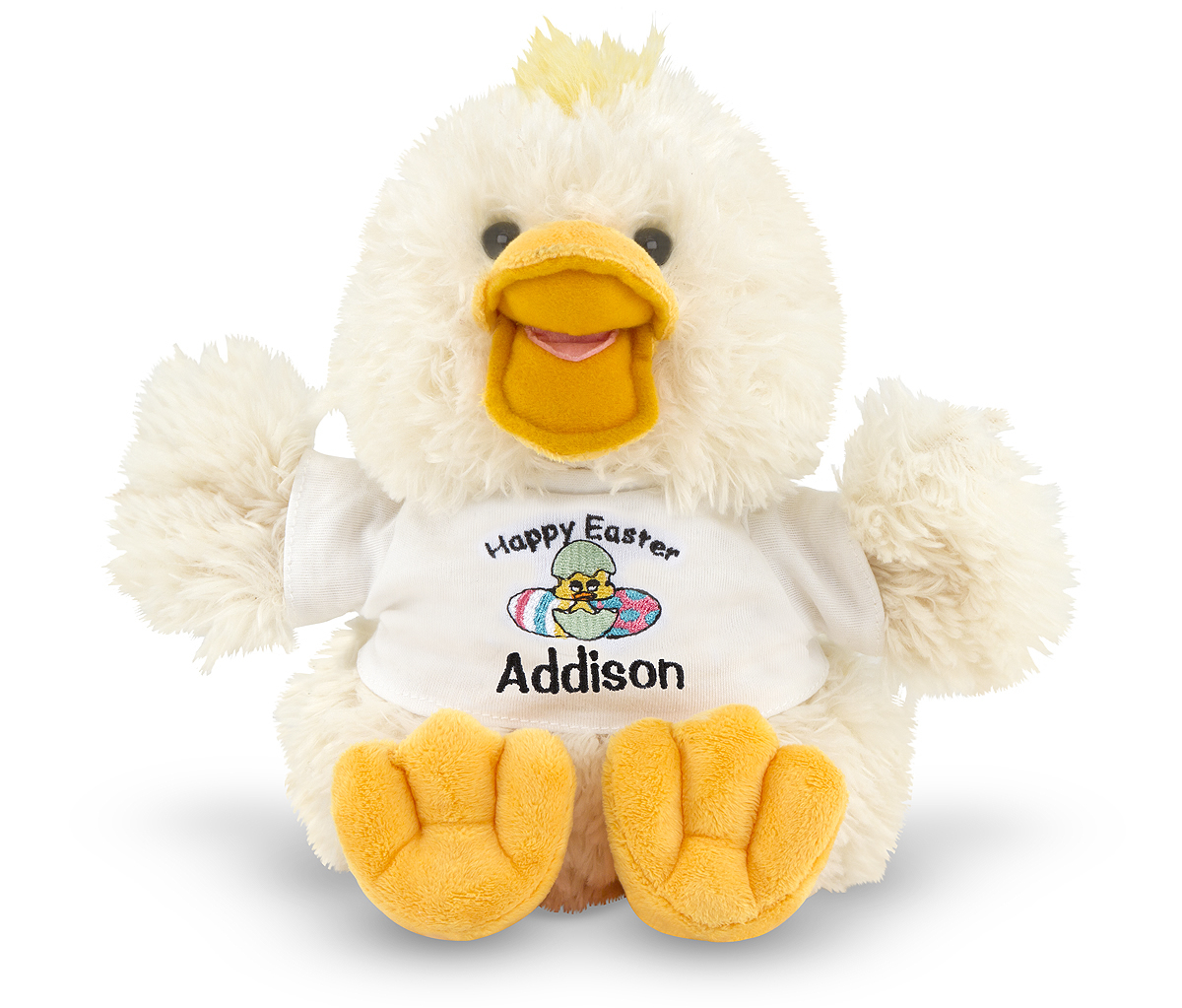 Melissa and Doug Thalacker Quacker Duck Stuffed Animal