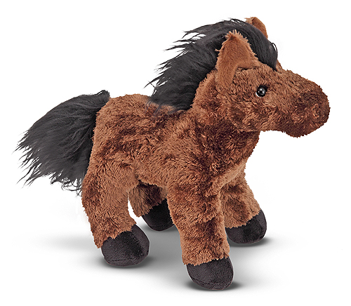 Melissa and Doug Hayward Horse Stuffed Animal