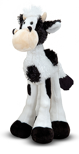 Melissa and Doug Lanky Legs Cow Stuffed Animal