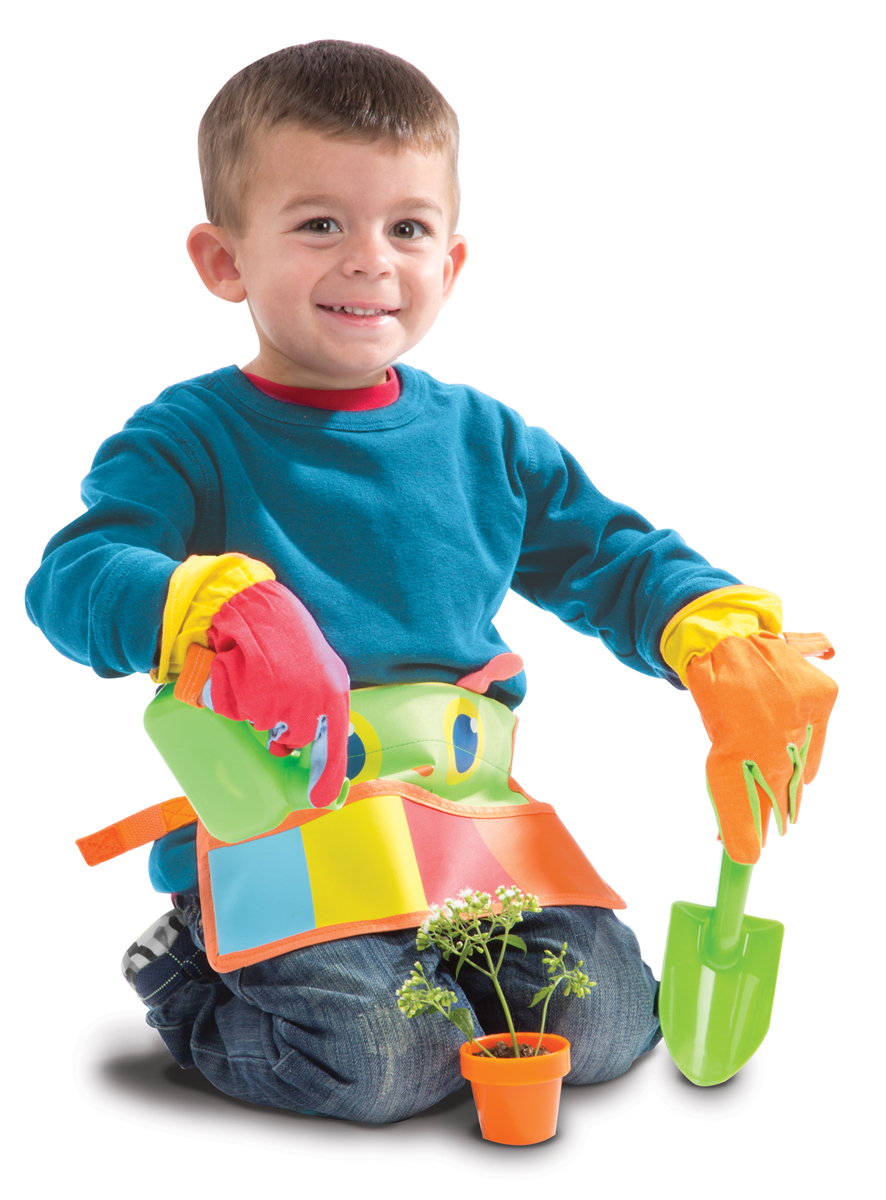 Happy Giddy Garden Tool Belt Set Toys For 5 7 Year Olds
