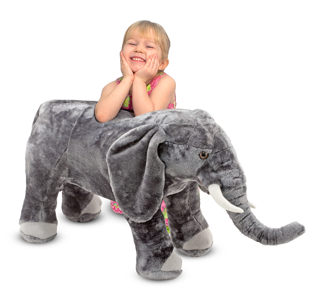 Melissa and Doug Elephant Giant Stuffed Animal