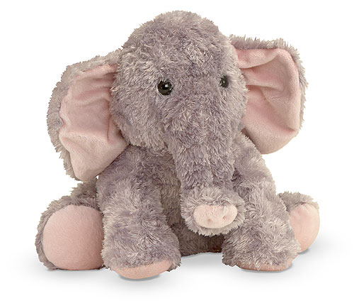 Melissa and Doug Sterling Baby Elephant Stuffed Animal