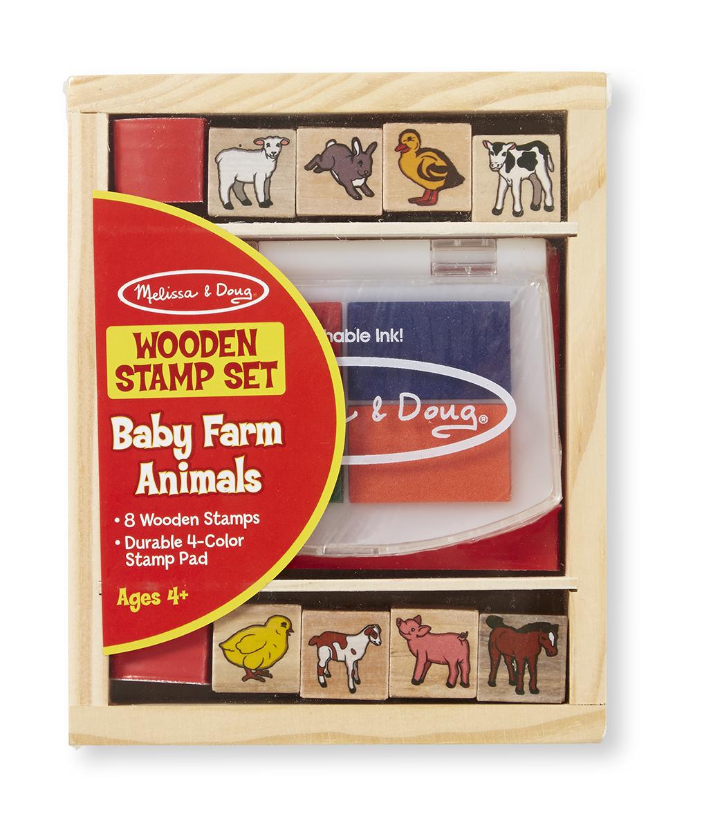 Baby Farm Animal Stamp Set Melissa Amp Doug
