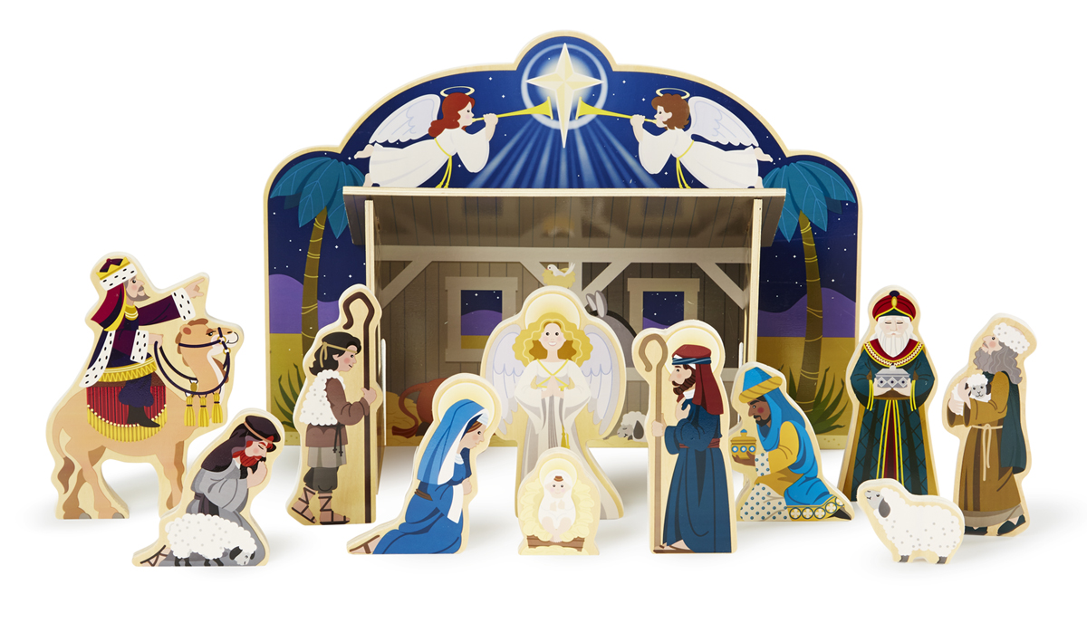 Melissa and Doug Nativity Set