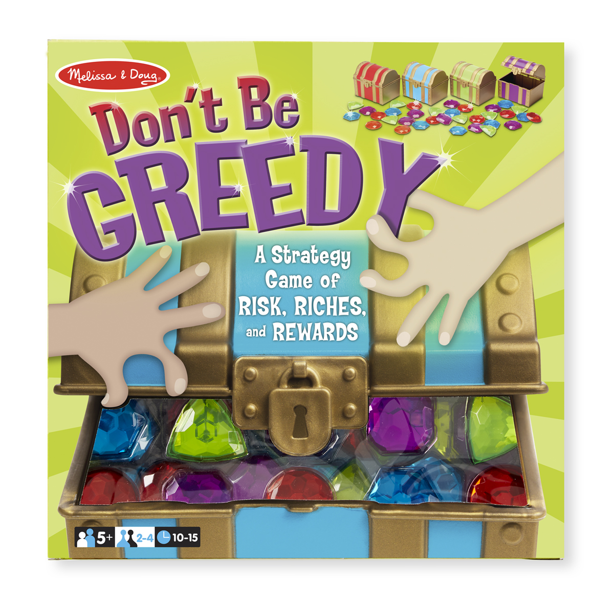 Melissa & Doug Don't Be Greedy Game 9450