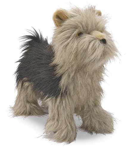 Melissa and Doug Yorkshire Terrier Dog Giant Stuffed Animal