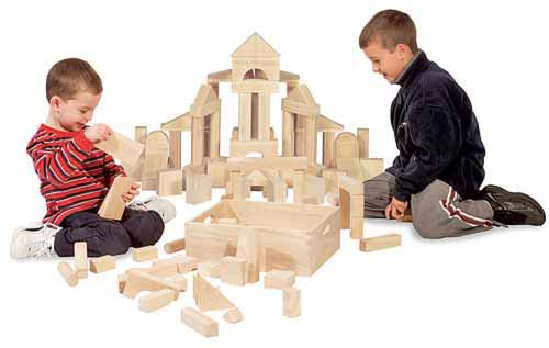 Melissa and Doug Standard Unit Blocks
