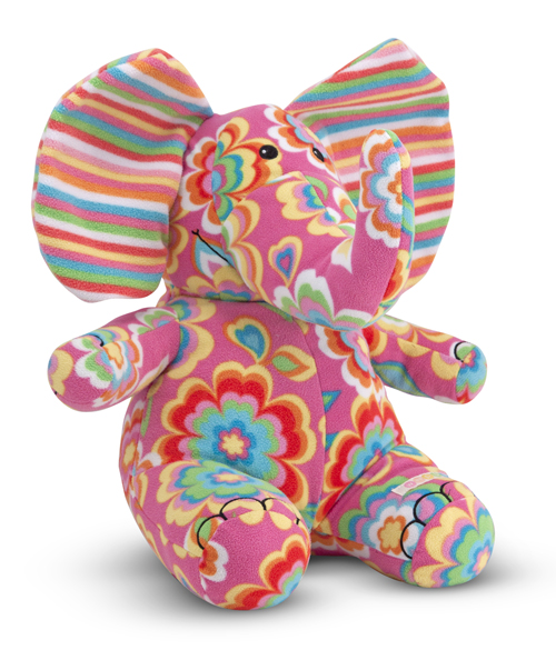 Melissa and Doug Beeposh Sally Elephant Stuffed Animal