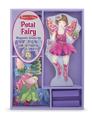 Melissa and Doug Petal Fairy Magnetic Dress-Up Set