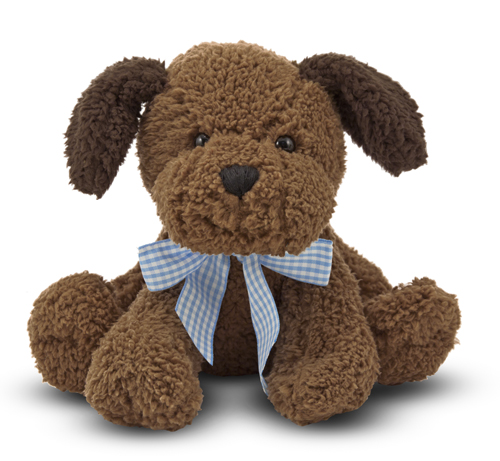 Melissa & Doug Meadow Medley Chocolate Puppy Dog Stuffed Animal