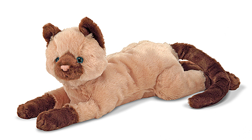 Melissa and Doug Sophie Siamese Cat Stuffed Animal