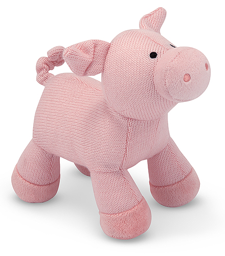 Melissa and Doug Sweater Sweetie Pig Stuffed Animal