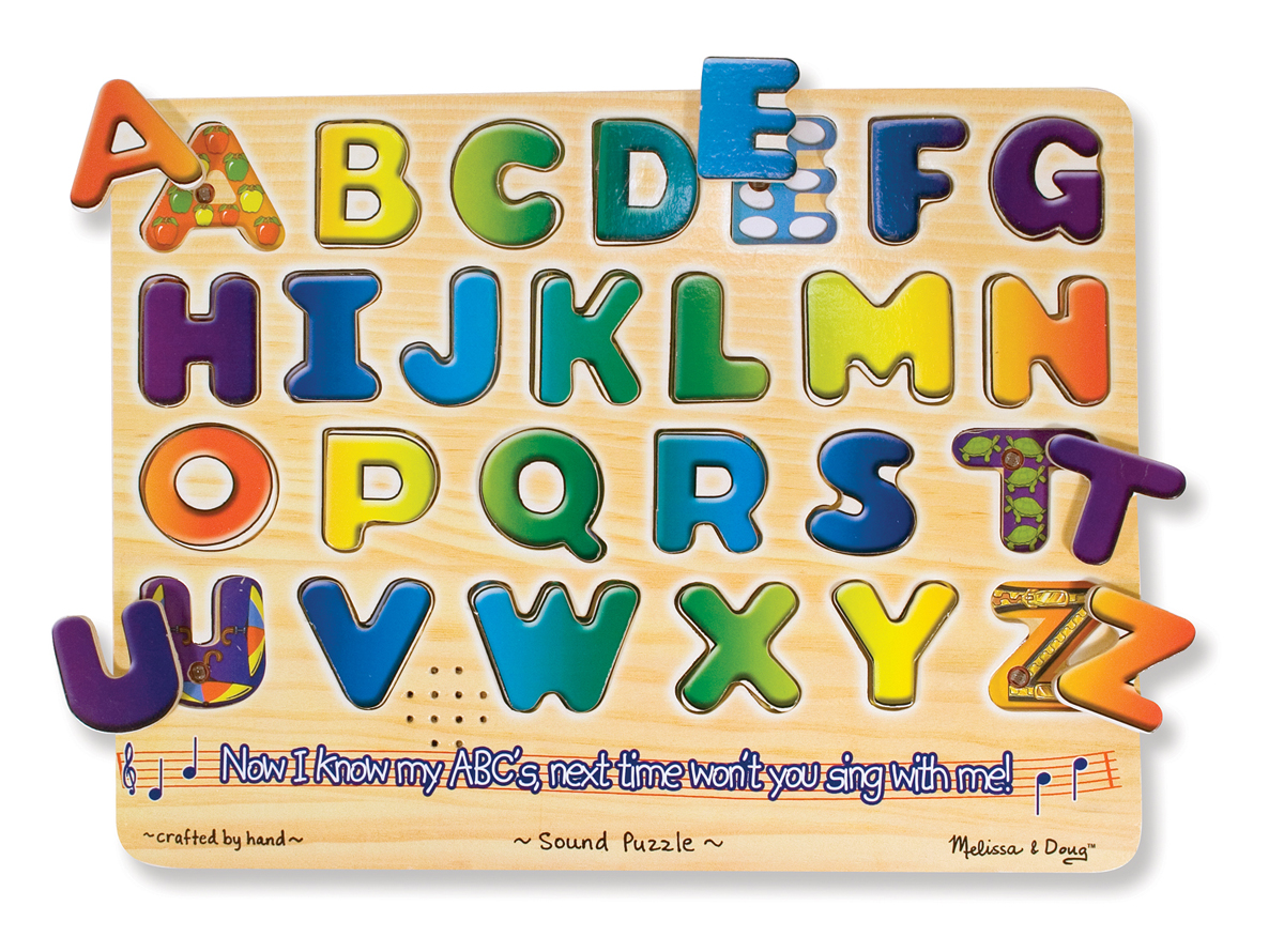 Melissa and Doug Alphabet Sound Puzzle - 26 Pieces
