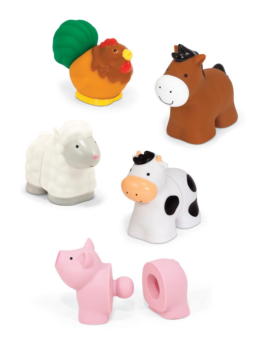 Melissa & Doug - Pop Blocs Farm Animals Learning Toy c2ff516a43be993a742f740eb71944c4