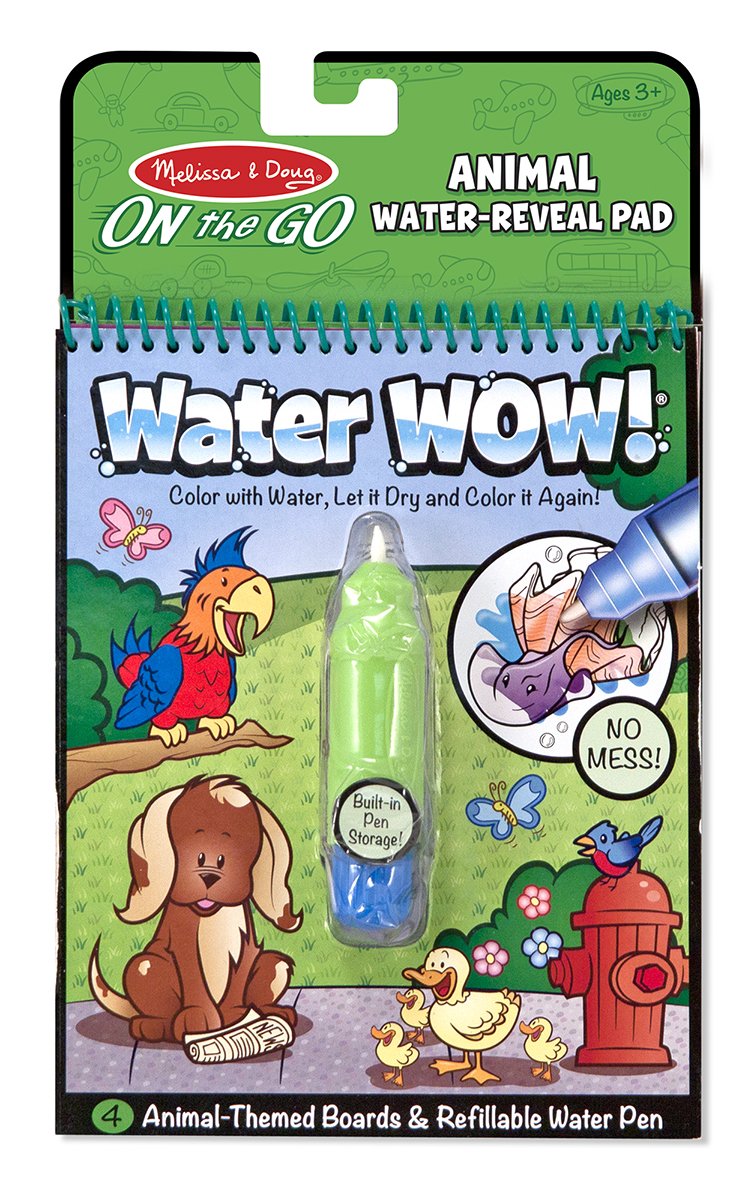 Water Wow Paint With Water Animals Coloring Book