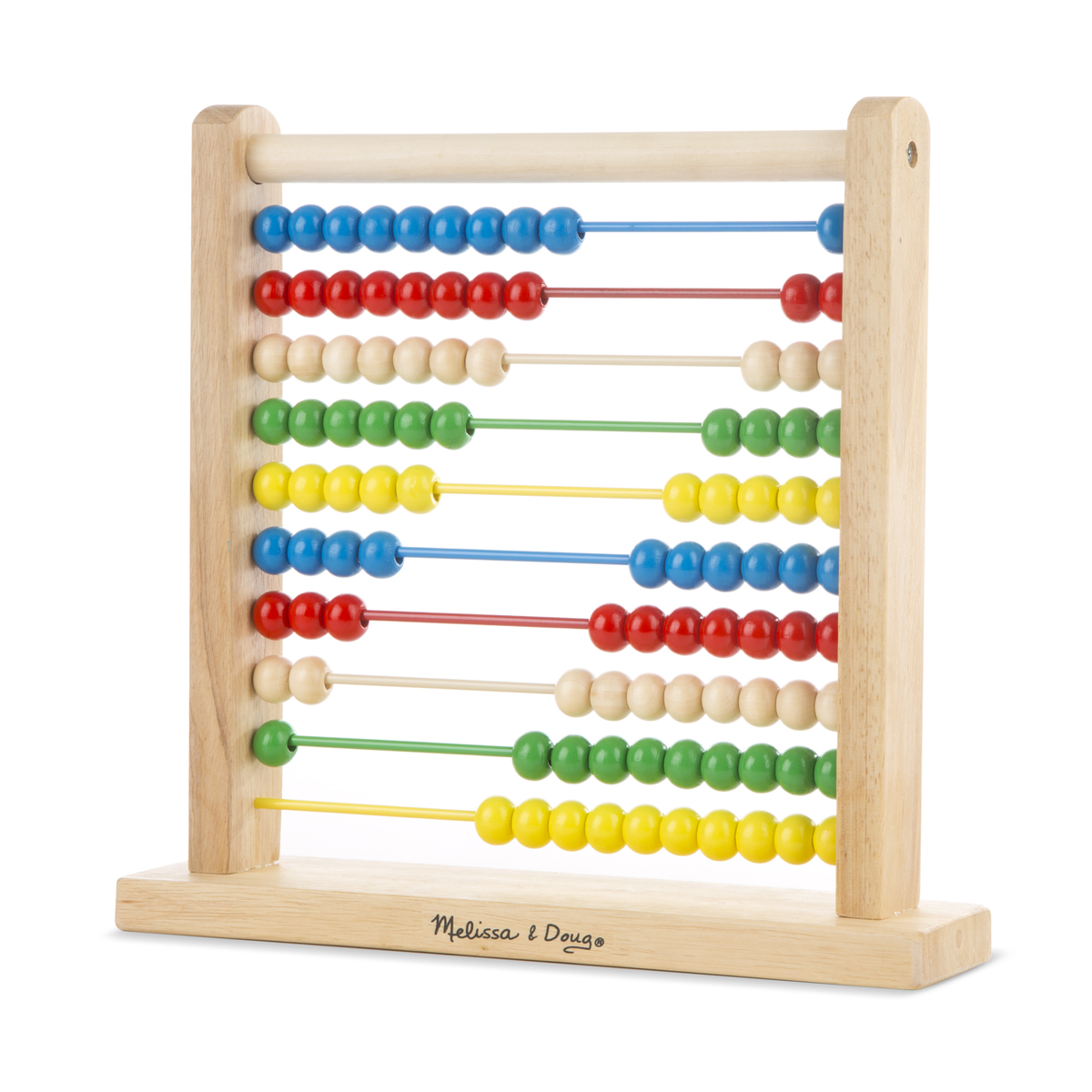 Melissa & Doug Abacus Classic Wooden Toy 493
