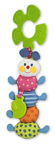 Melissa & Doug - Funky Inchworm Stroller Pal Baby Toy
