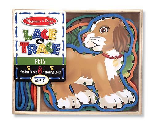 Melissa and Doug Lace & Trace Pets