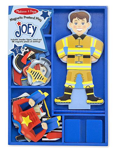 Joey Magnetic Wooden Dress Up Set Kids Play Dress Up Set