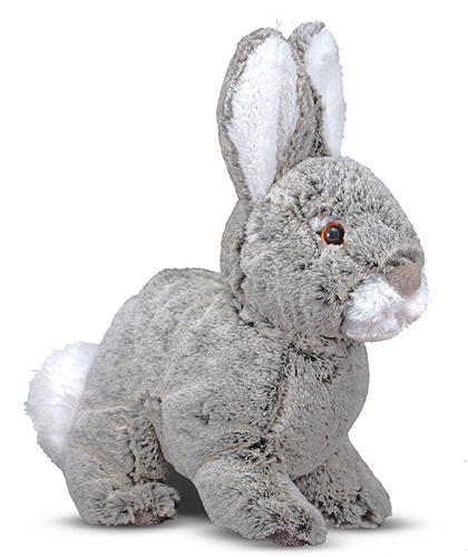 Melissa and Doug Brambles Bunny Rabbit Stuffed Animal