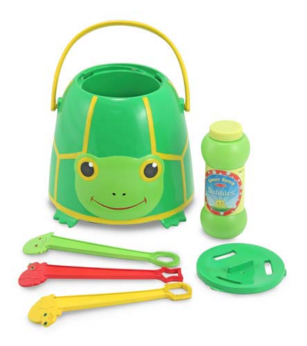 Melissa & Doug - Tootle Turtle Bubble Bucket d9ca795462cd4a858c64dbf9a4f18c2b