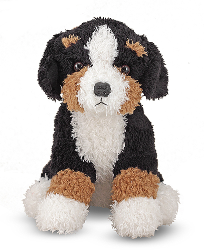 Melissa and Doug Barkley Bernese Puppy Dog Stuffed Animal