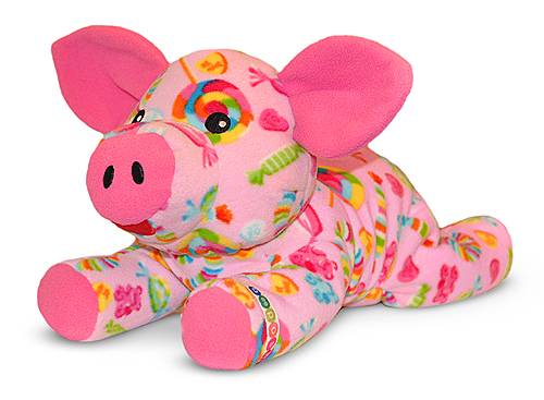 Melissa and Doug Beeposh Becky Pig Stuffed Animal