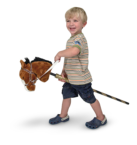 Melissa and Doug Gallop-N-Go Stick Pony
