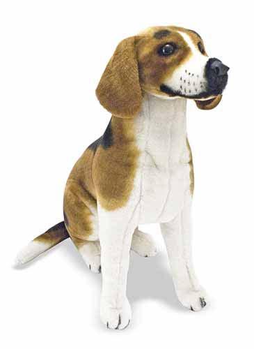 Melissa & Doug Beagle Dog Giant Stuffed Animal