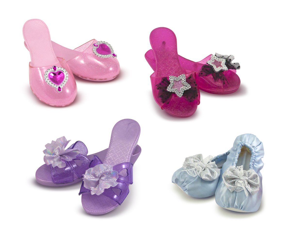 Melissa and Doug Role Play Collection – Step In Style! Dress-Up Shoes