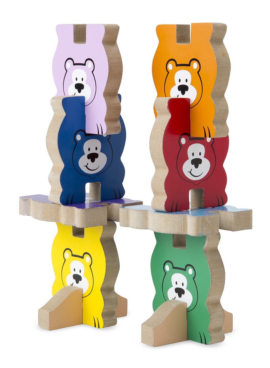 Stacking Toy Puzzles : Stacking chunky puzzle bears melissa and doug