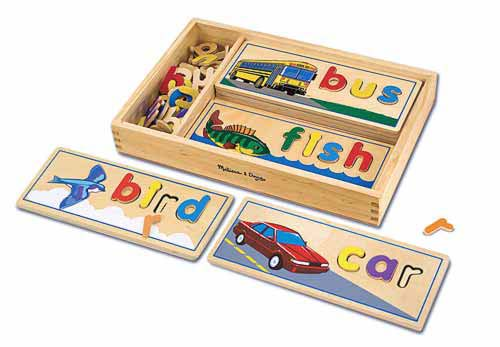 Melissa and Doug See & Spell Learning Toy