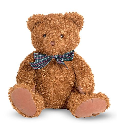 Melissa & Doug Little Chestnut Teddy Bear Stuffed Animal 7747