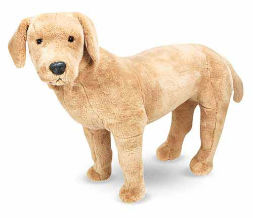 Melissa & Doug Yellow Labrador Giant Stuffed Animal