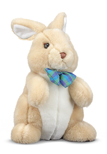 Melissa and Doug Propper Bunny Rabbit Stuffed Animal