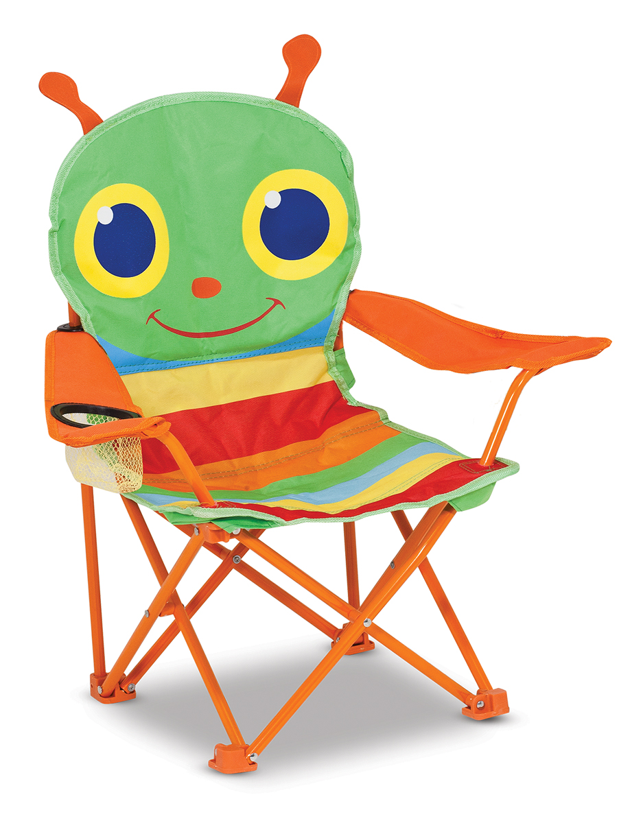 An Image of Melissa and Doug Happy Giddy Child's Outdoor Chair