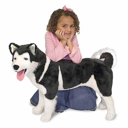 Melissa & Doug Husky Giant Stuffed Animal