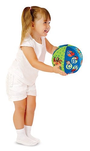 Melissa & Doug 2-in-1 Talking Ball Learning Toy 9181